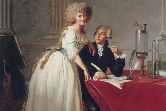 Lavoisier e esposa